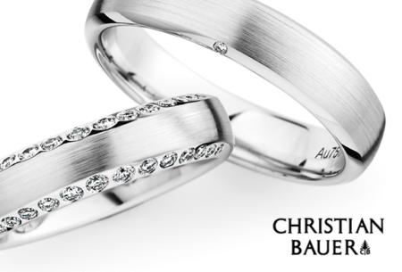Christiaan Bauer ringen bij Juwelier Kale